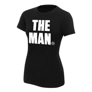 "NWT BECKY LYNCH ""THE MAN"" WOMEN'S T-SHIRT"